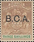 "[South Africa Company Stamps Overprinted ""B.C.A."", type A9]"