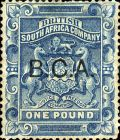 "[South Africa Company Stamps Overprinted ""B.C.A."", type B]"