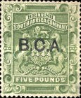 "[South Africa Company Stamps Overprinted ""B.C.A."", type B2]"
