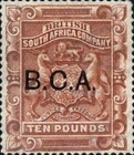 "[South Africa Company Stamps Overprinted ""B.C.A."", type B3]"