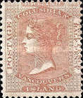 [Queen Victoria - British Columbia Issue, Typ A]