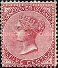 [Queen Victoria - Vancouver Island Issue, Typ C]