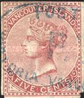 [Queen Victoria - Vancouver Island Issue, type C1]