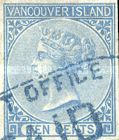 [Queen Victoria - Vancouver Island Issue, Typ D1]