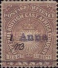 [No.6 & 9 Surcharged by Handstamp in Greyish Violet, type D1]