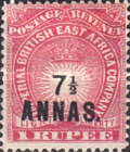 [No.14 & 16 Surcharged, type E1]