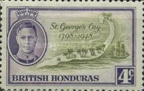 [The 150th Anniversary of the Battle of St. George`s Cay, type AS2]