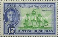 [The 150th Anniversary of the Battle of St. George`s Cay, type AT2]