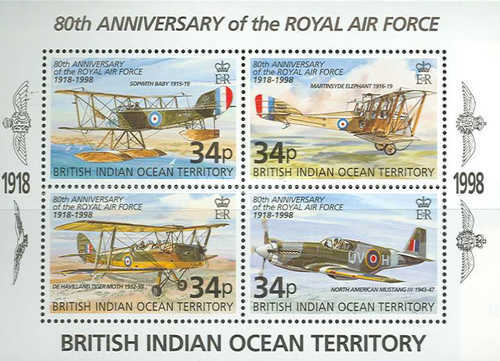 [The 80th Anniversary of the Royal Air Force, Typ ]