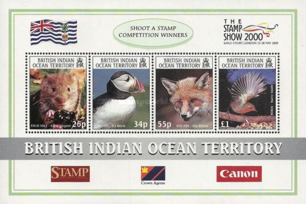 "[International Stamp Exhibition ""THE STAMP SHOW 2000"" - London, England, type ]"