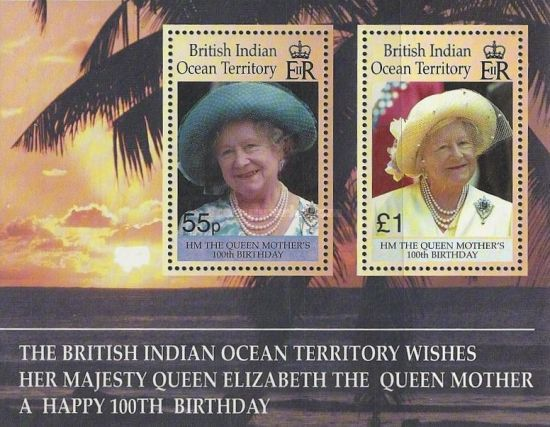 [The 100th Anniversary of the Birth of HM The Queen Mother, Typ ]