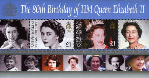 [The 80th Anniversary of the Birth of HM Queen Elizabeth II, Typ ]