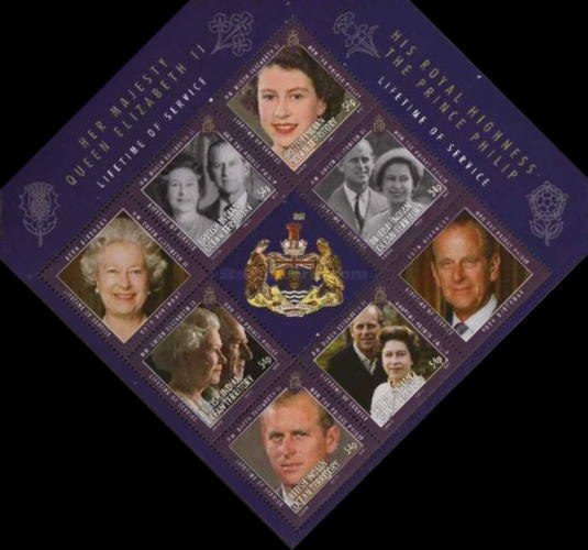 [The 60th Jubilee of Queen Elizabeth, Typ ]