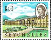 [Seychelles Postage Stamps Overprinted B.I.O.T, type A13]