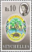 [Seychelles Postage Stamps Overprinted B.I.O.T, type A14]