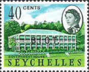 [Seychelles Postage Stamps Overprinted B.I.O.T, type A5]