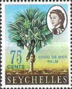 [Seychelles Postage Stamps Overprinted B.I.O.T, Typ A8]