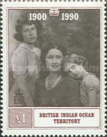 [The 90th Anniversary of the Birth of Queen Elizabeth, 1900-2002, Typ CN]