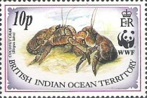 [World Wildlife Fund - Coconut Crab, type DM]