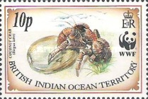 [World Wildlife Fund - Coconut Crab, type DN]
