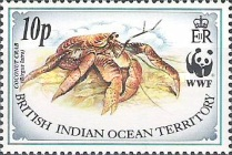 [World Wildlife Fund - Coconut Crab, type DO]