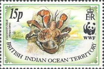 [World Wildlife Fund - Coconut Crab, type DP]