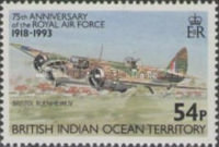 [The 75th Anniversary of the Royal Air Force, type DT]