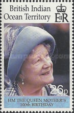 [The 100th Anniversary of the Birth of HM The Queen Mother, Typ HY]