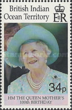 [The 100th Anniversary of the Birth of HM The Queen Mother, Typ HZ]