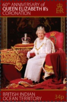 [The 60th Anniversary of the Coronation of Queen Elizabeth II, type TI]
