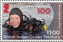 [The 100th Anniversary of the Women's Royal Naval Service, Typ VD]