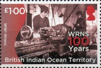 [The 100th Anniversary of the Women's Royal Naval Service, Typ VE]