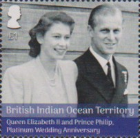 [The 70th Anniversary of the Wedding of Queen Elizabeth II and Prince Philip, Typ VH]