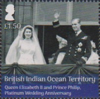 [The 70th Anniversary of the Wedding of Queen Elizabeth II and Prince Philip, Typ VI]