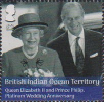 [The 70th Anniversary of the Wedding of Queen Elizabeth II and Prince Philip, Typ VJ]