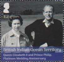 [The 70th Anniversary of the Wedding of Queen Elizabeth II and Prince Philip, Typ VK]