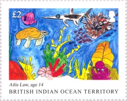 [Children's Drawings - International Year of the Reef, Typ VV]