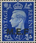 [King George VI - Great Britain Postage Stamps of 1937 Overprinted