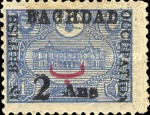 [Turkish Postage Stamp Surcharged, type D]