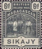 [British Inland Mail - Madagascar, type E2]