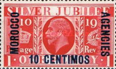 [Great Britain Postage Stamps Overprinted & Surcharged, Typ J1]