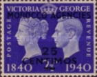 [Great Britain Postage Stamps Overprinted, Typ Q3]