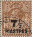 [Great Britain Postage Stamps Surcharged, type P4]