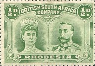 [King George V, 1865-1936 & Queen Marie, 1867-1953, type O1]