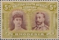 [King George V, 1865-1936 & Queen Marie, 1867-1953, type O12]