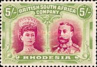 [King George V, 1865-1936 & Queen Marie, 1867-1953, type O13]