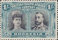 [King George V, 1865-1936 & Queen Marie, 1867-1953, type O18]