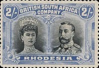 [King George V, 1865-1936 & Queen Marie, 1867-1953, type O19]