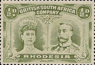 [King George V, 1865-1936 & Queen Marie, 1867-1953, type O2]