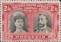 [King George V, 1865-1936 & Queen Marie, 1867-1953, type O20]